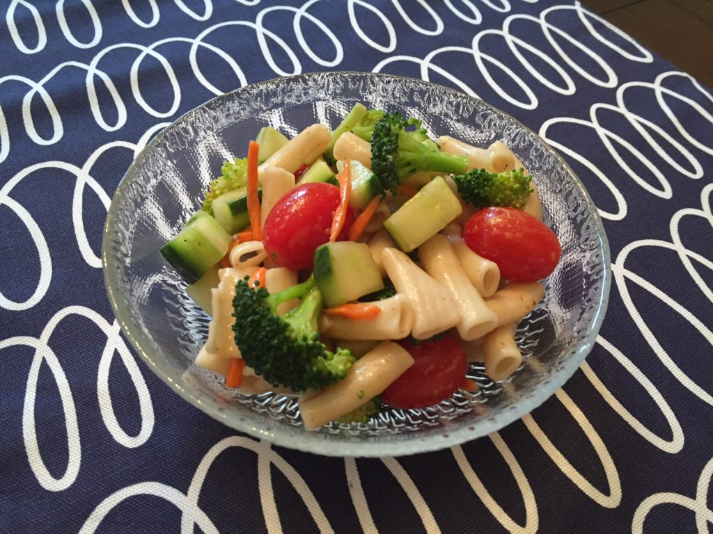 Gluten Free Vegetable Pasta Salad
